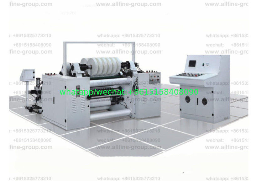Paper And Film Slitting Machine 400mpm Tipping Paper Packet Of Cigarettes